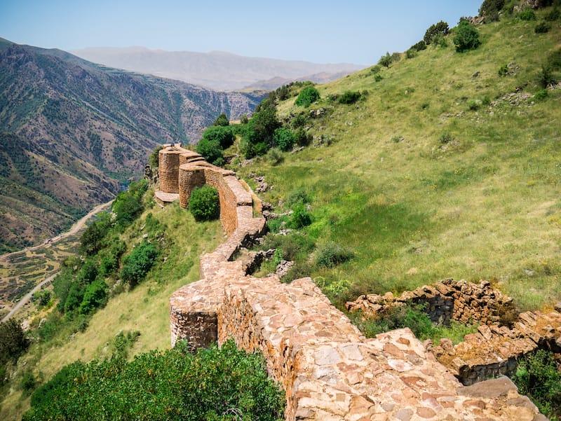 Smbataberd Fortress in Yeghegis